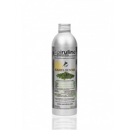 SPIRULINE BOTTLE - 120 TABLETS 500MG